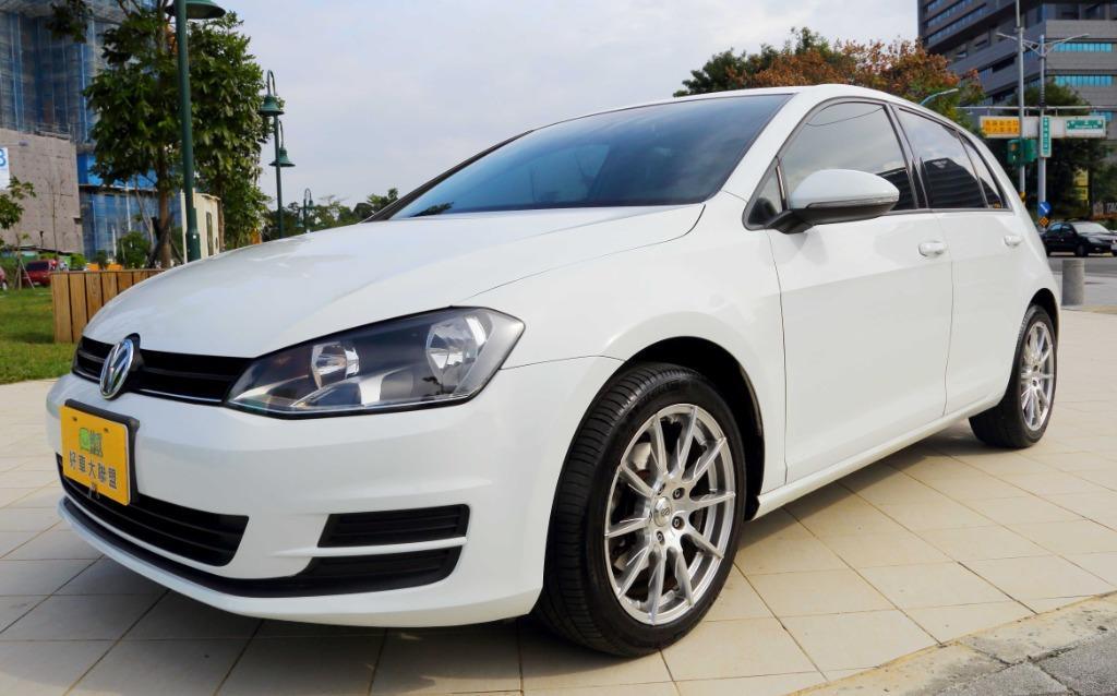 2013 14年式 VW 福斯 GOLF 1.2 TSI 白色