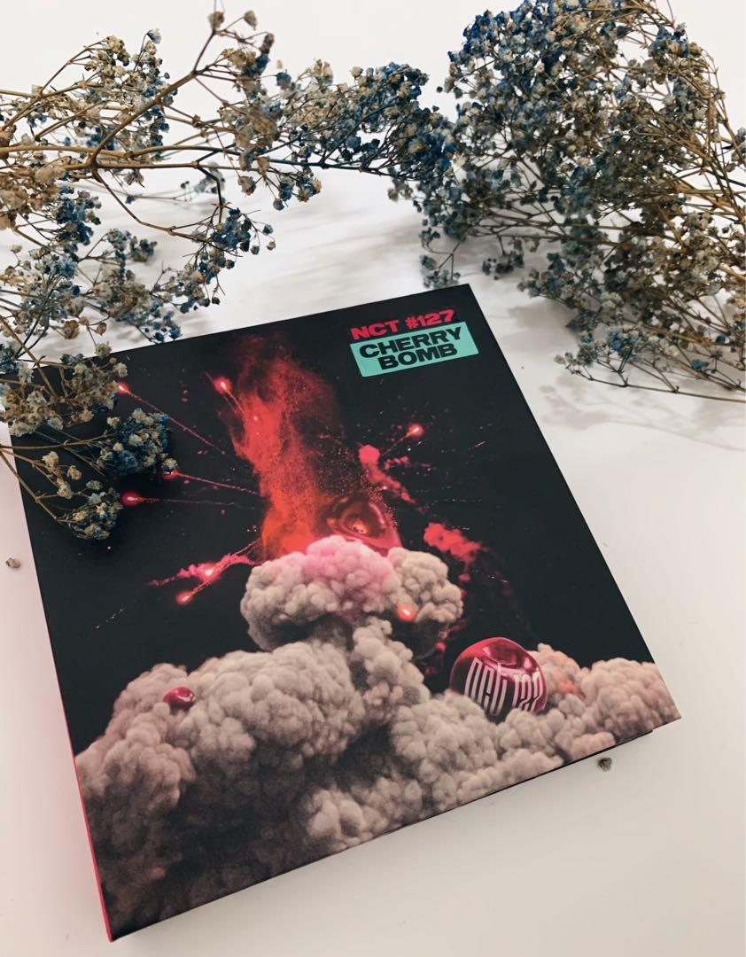 [ALBUM ONLY] NCT #127 CHERRY BOMB - 3rd Mini Album with FREE POSTER