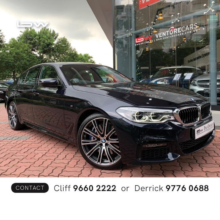 BMW 5 Series 540i M Sport Auto