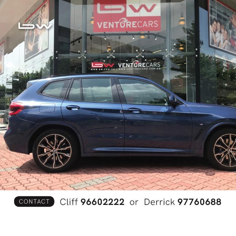 BMW X Series X3 xDrive30i xLine Auto