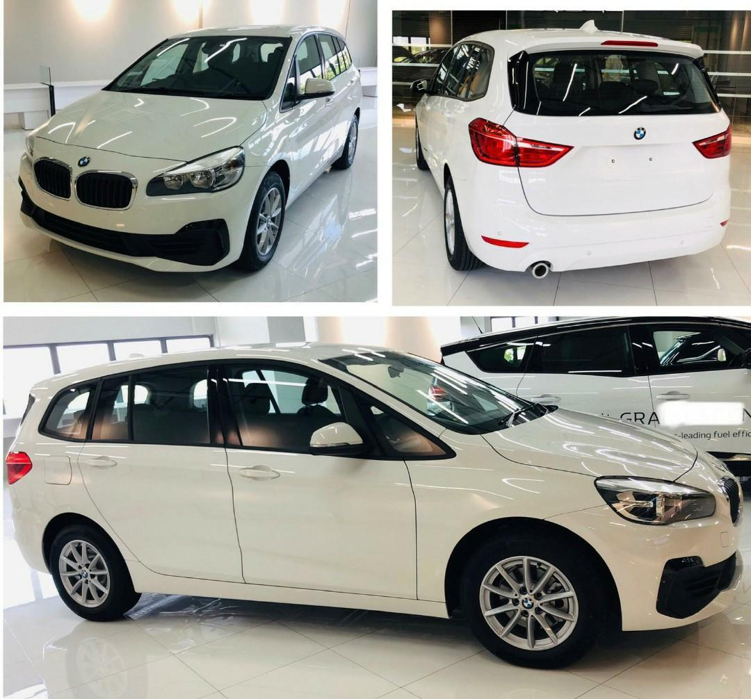 Brand new BMW216i GT 7-seater for rent. Call 9663 8808 now
