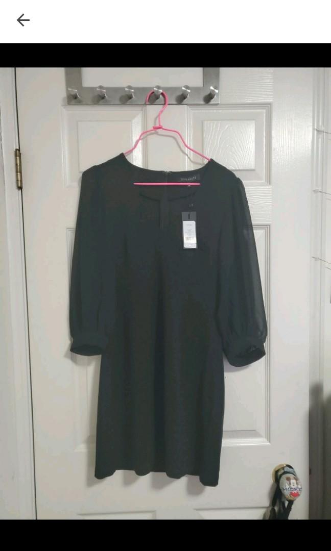 Brand new with tags - Dynamite Black long sleeve dress