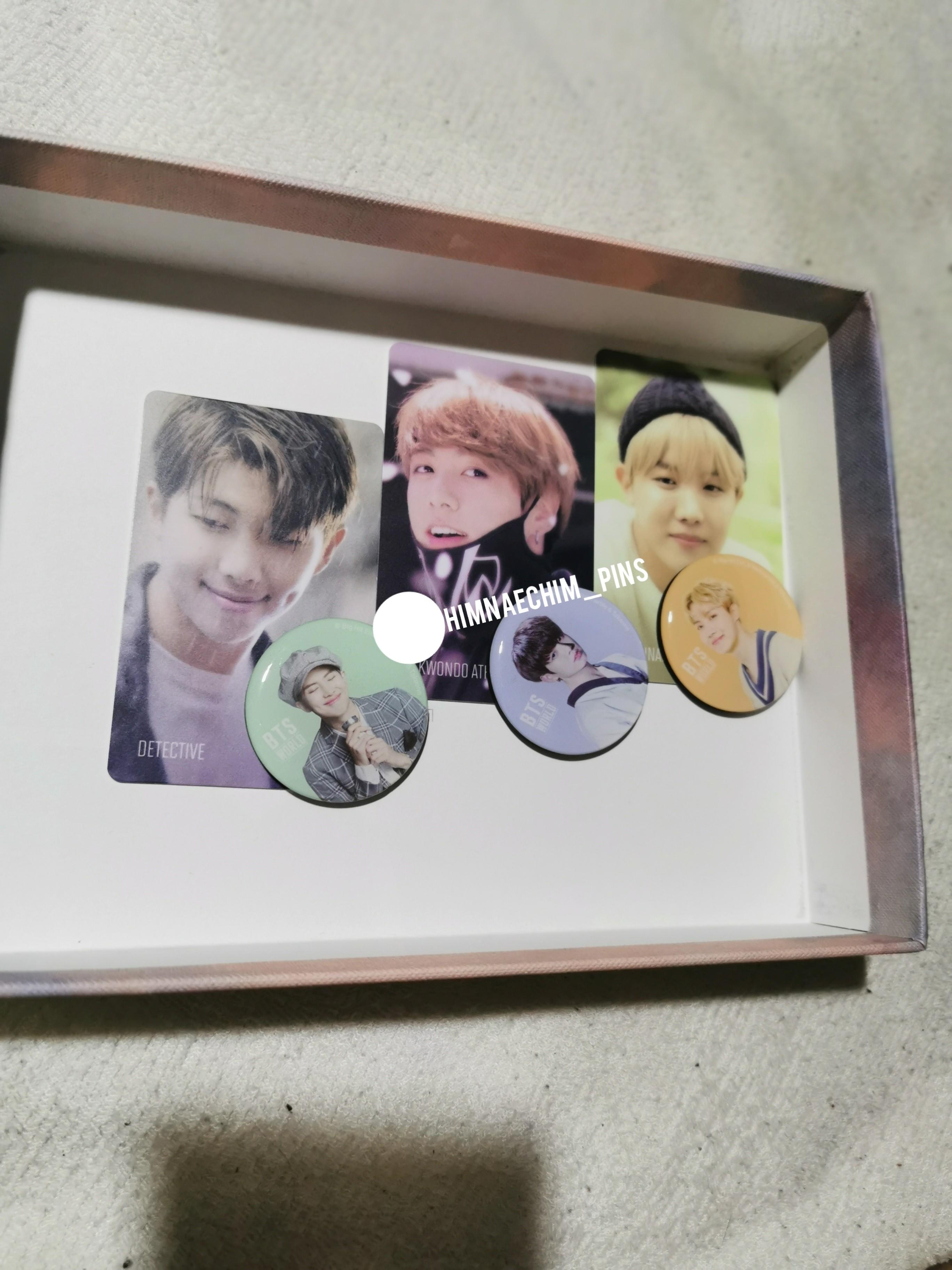 BTS OFFICIAL OST ALBUM OFFICIAL LOOSE PC MAGNET SET READYSTOCK
