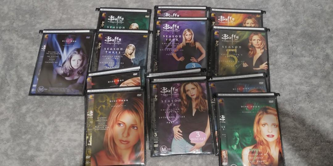 Buffy the Vampire Slayer - complete series - no cases