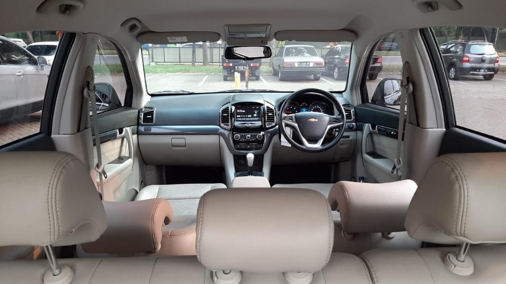 Chevrolet Captiva Diesel Facelift 2.0 AT 2017 Dp 84,9 Jt No Pol Genap