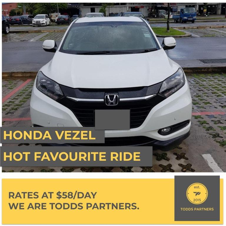 For Grab/GoJEK - Honda Vezel