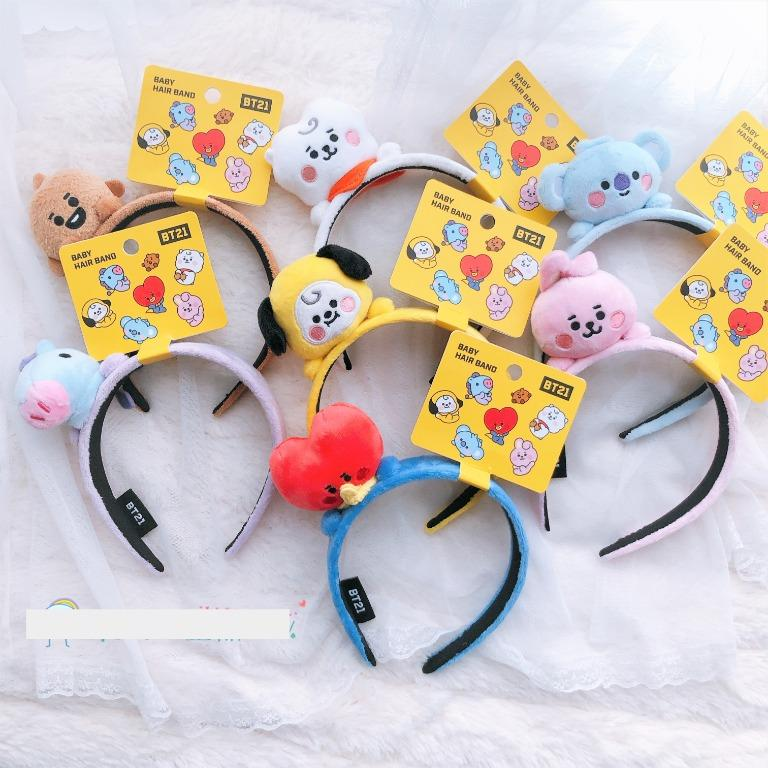 FREE POSTAGE bt21 baby hairband hair head band bts Official