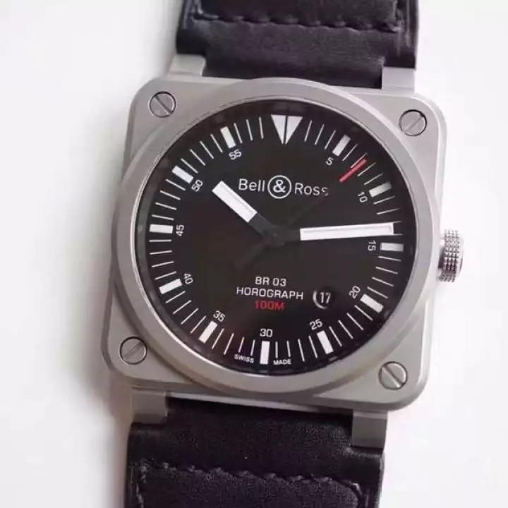 💥FREEGIFT SNEAKERS💥[PRE-ORDER] BR Holograph BR_03-92 Miyota Engine 9015 ( ETA 7-14 Days ) Men Fashion Watch