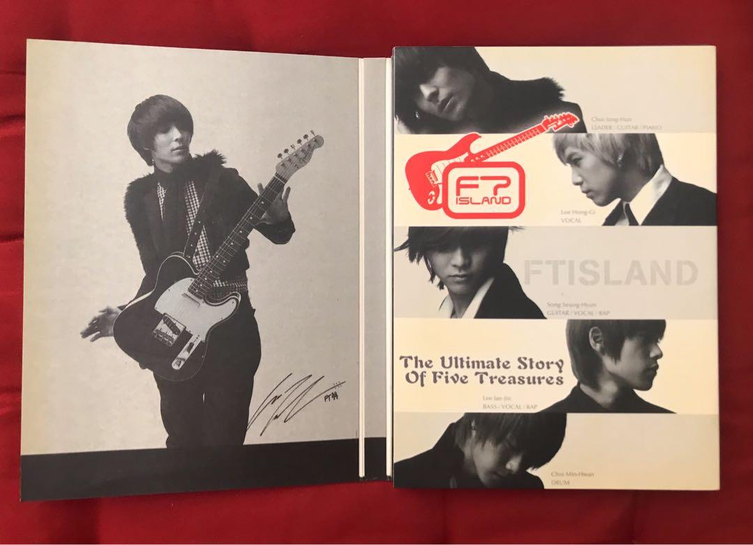 [DVD] FT Island - The Ultimate Story of Five Treasures