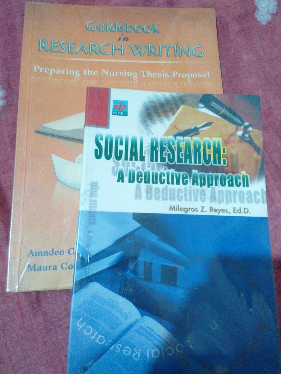 Guidebook in Research Writing & Social Research: A Deductive Approach