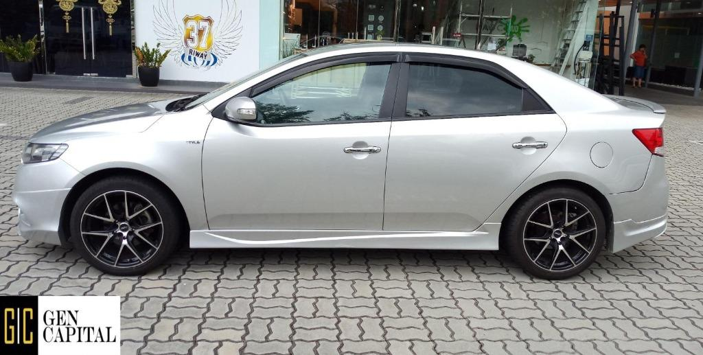 Kia Cerato Forte 1.6A *Early CNY Promo whatsapp @87493898 now! Deposit $500 Driveaway Immediately!*