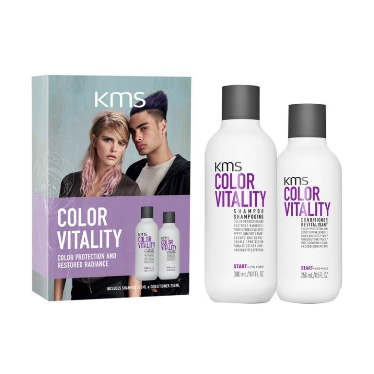 KMS Color Vitality Duo Pack Shampoo Conditioner RRP$40