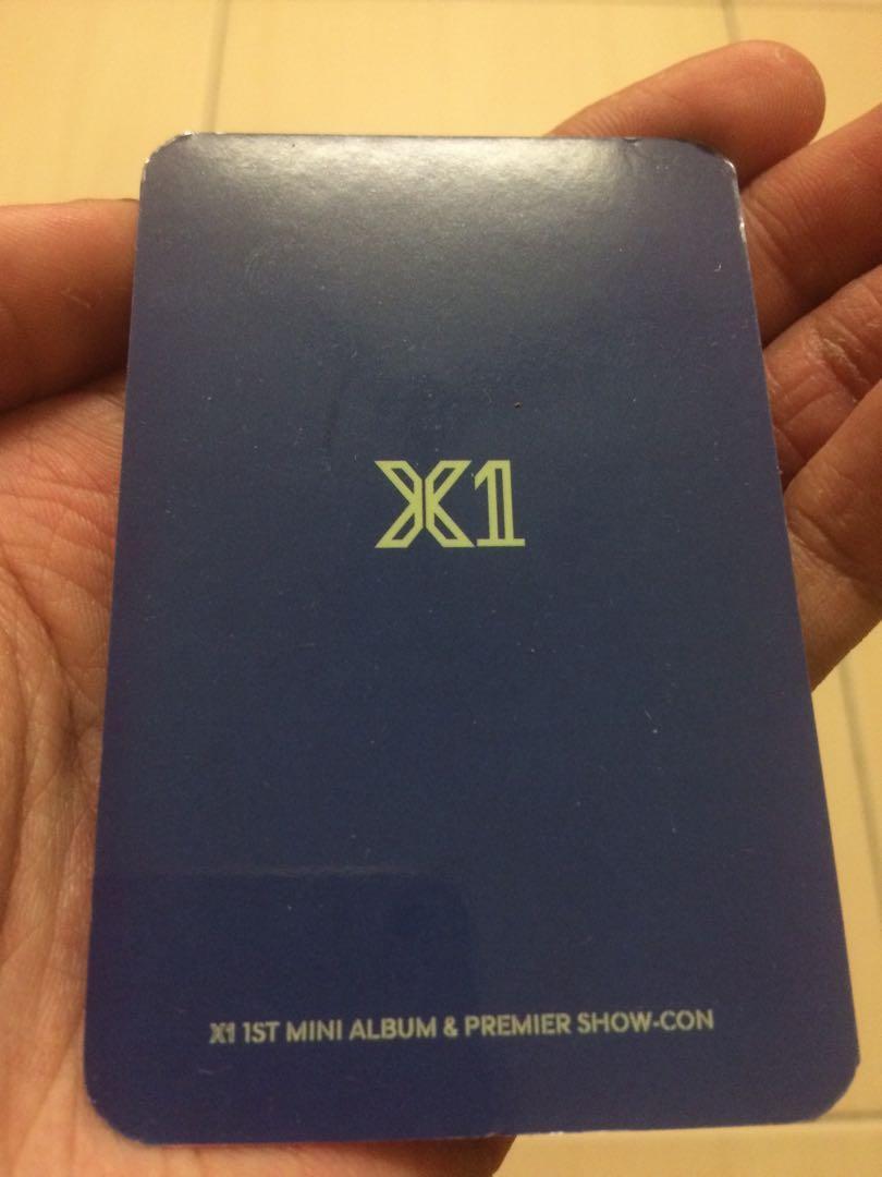 KPOP X1 New Album 《비상 : QUANTUM LEAP》Concert Same Card 11pcs/set HD LOMO Card