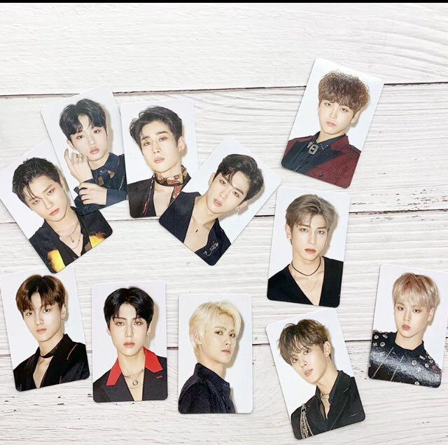 KPOP X1 New Album 《비상 : QUANTUM LEAP》Concert Same Card 11pcs/set HD LOMO Card
