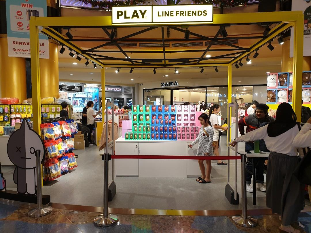 [LIMITED HOUR TODAY 12PM-6PM] BT21 Pop-Up Store at Sunway Pyramid Shopping Service (23/12) -CLOSED-