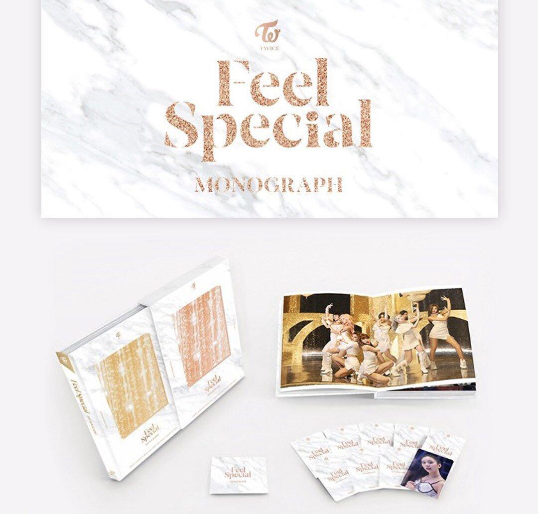 [LIMITED ORDER] TWICE - MONOGRAPH FEEL SPECIAL (LIMITED EDITION)