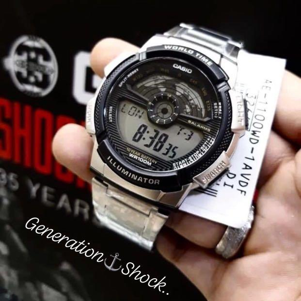 NEW🌟CASIO AVIATORS UNISEX DIVER SPORTS WATCH : 100% ORIGINAL AUTHENTIC : By BABY-G-SHOCK ( GSHOCK ) Company : AE-1000WD-1A / AE-1100WD-1A / AE-1200WHD-1A / AE-1400WHD-1A