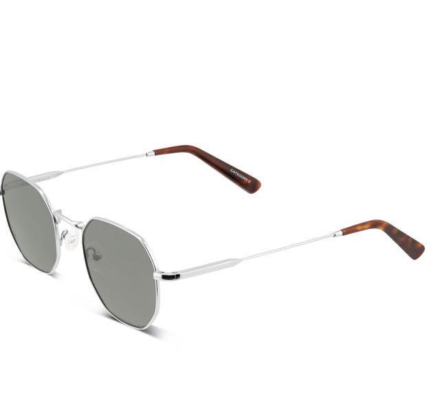 Oscar Wylee Silver Sunglasses (brand new, style: soma)