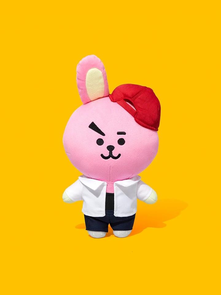 (PO) Official BTS BT21 Afterschool Plush Standing Doll