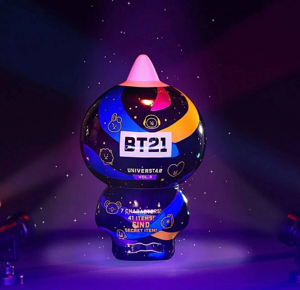 (PO) Official BTS BT21 Collectible Figure Blind Pack Vol.3 Concert Theme