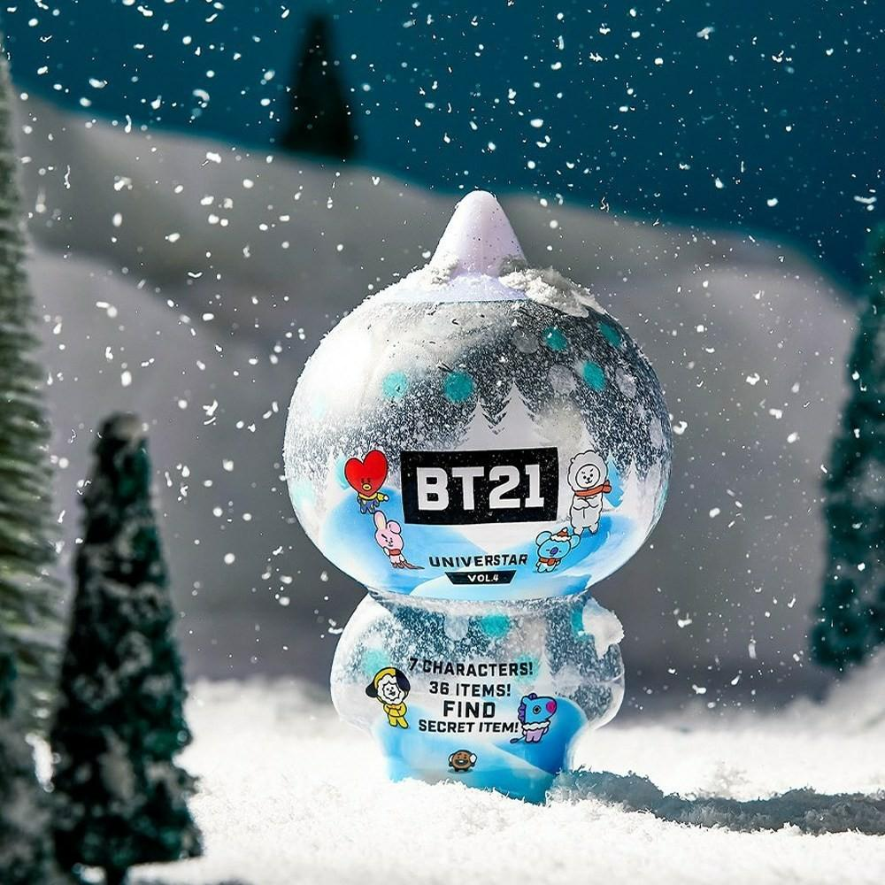 (PO) Official BTS BT21 Collectible Figure Blind Pack Vol.4 Winter Theme