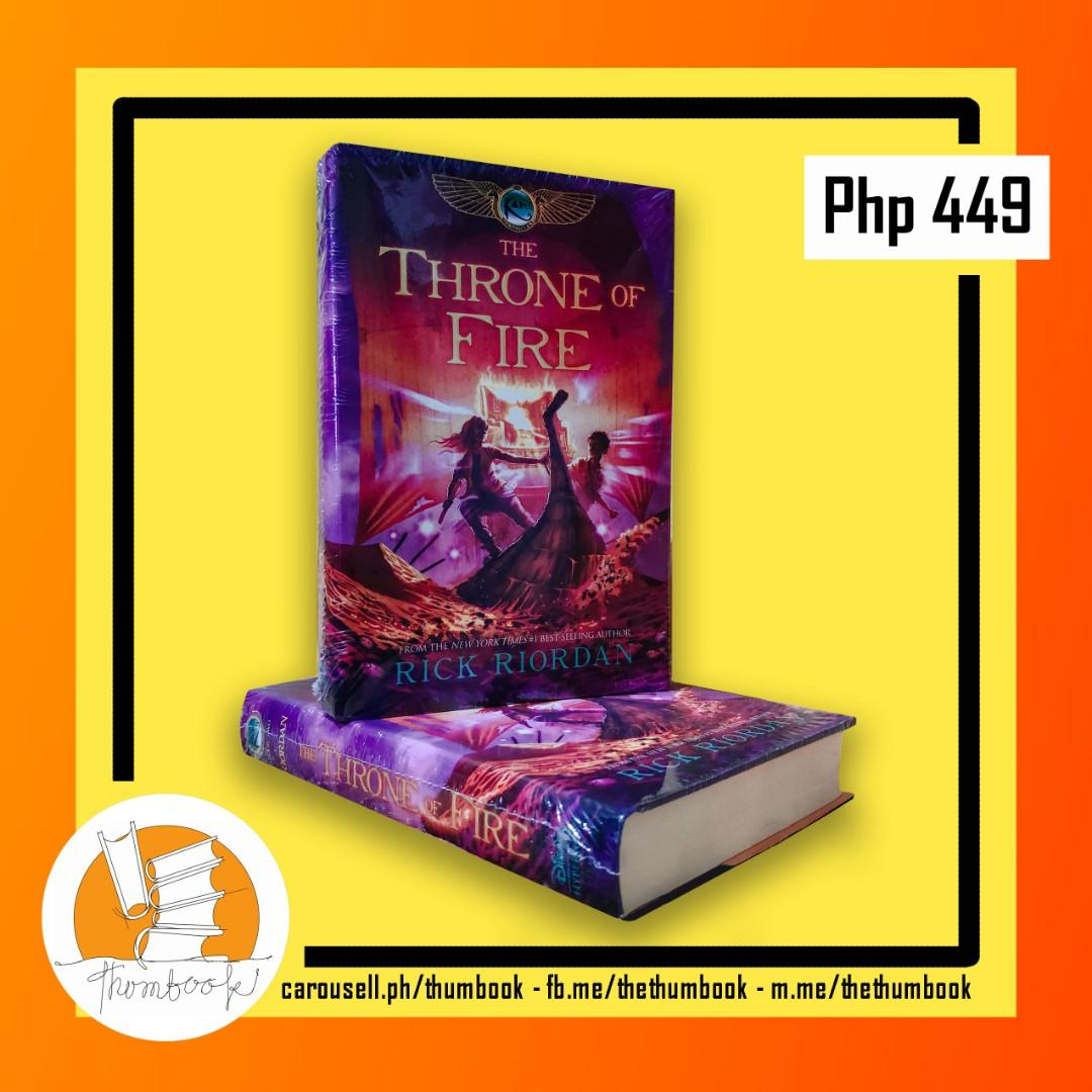 Rick Riordan - The Kane Chronicles Book 1 : The Throne of Fire