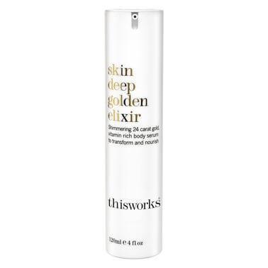THIS WORKS Skin Deep Golden Elixir Body Shimmer RRP$89