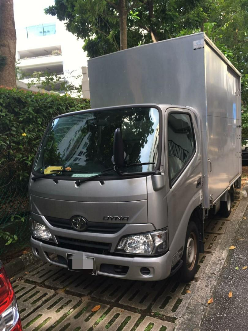 Toyota Dyna 3.0M (2018) 10FT Box With Tailgate