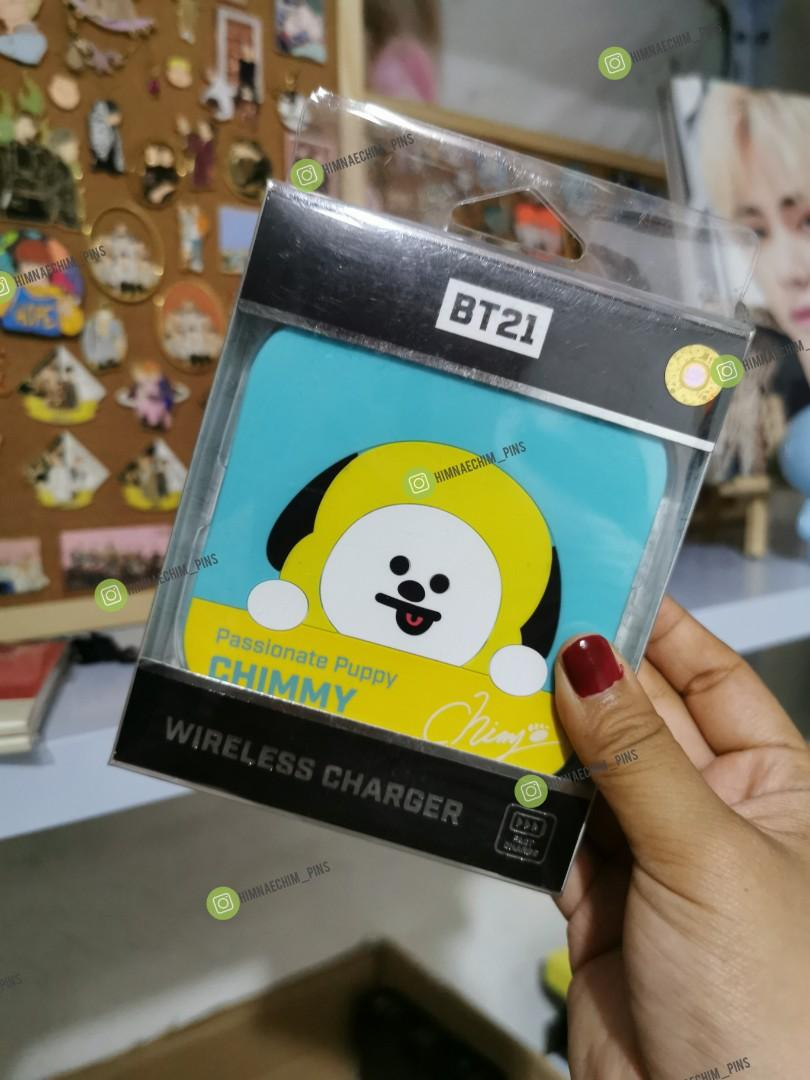 WTS  OFFICIAL BT21 MERCHANDISE READYSTOCK CHIMMY COOKY