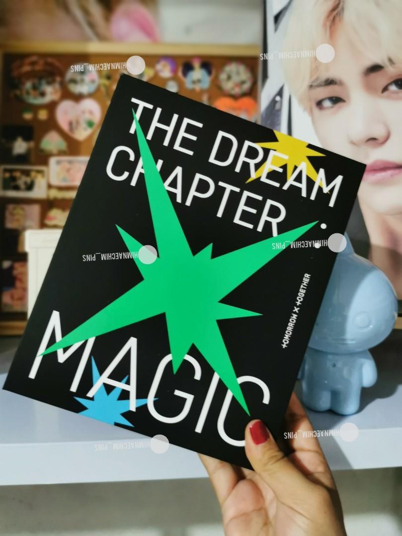 WTS READYSTOCK TXT ALBUM THE DREAM CHAPTER :MAGIC  FULLSET (UNSEALED WITH TAEHYUN & YEONJUN PC)