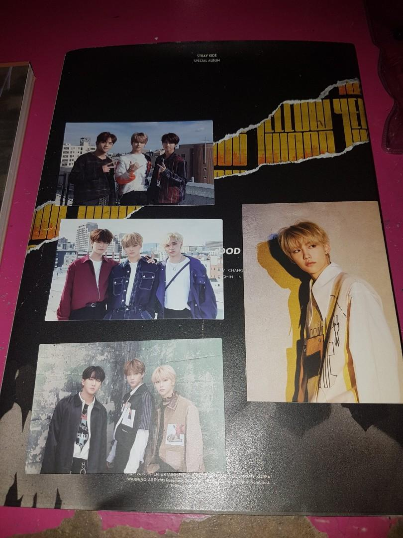 [WTS] STRAY KIDS CLÉ 2 : YELLOW WOOD, I AM YOU (I AM VER.), PHOTOCARDS