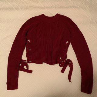Topshop Cropped Sweater