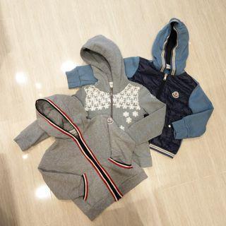 真品Moncler小童棉質連帽羽絨外套(一歲兩歲寶寶)
