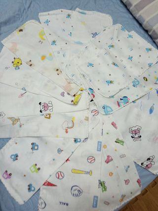15條紗布巾