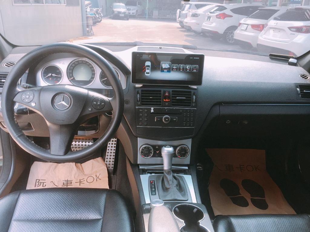 🚗跨年前 讓你有車載妹子 🚗 2008年 c300 黑  改帥帥   大螢幕  全額貸/還有錢可以拿