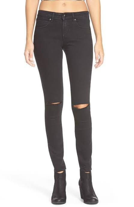 Articles Of Society Size 29 Black Distressed Jeans