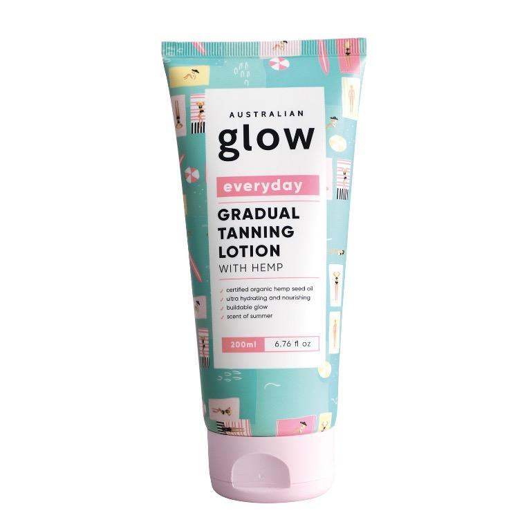 Australian Glow Everyday Gradual Tanning Lotion With Hemp RRP$20