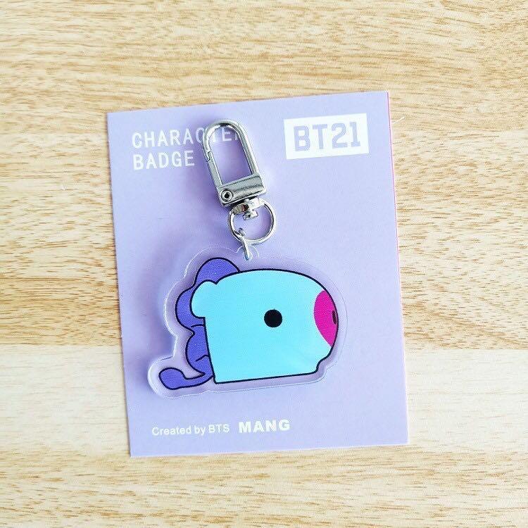Baby BT21 BTS Acrylic Keychain / Keyring / Pendant