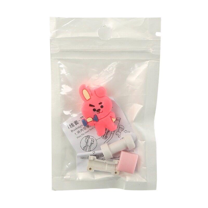 BT21 BTS Cute Phone Cable Charge Protector / Cover