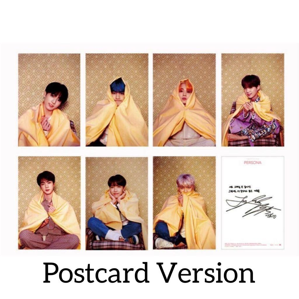 BTS Map Of The Soul Persona Boy With Luv Unofficial Photocards Photocard PC
