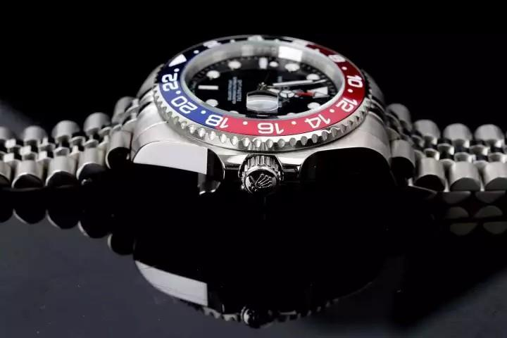 💥BUY WATCH, FREE SNEAKERS💥Rolex_Fashion GMT-MASTER Black Dial Stainless Steel Ceramic Oyster Men's Watch 126710BLRO
