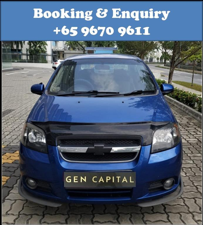 Chevrolet Aveo @ Best rates, full servicing provided!