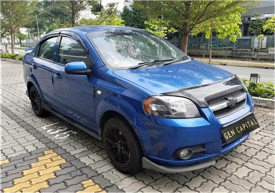 Chevrolet Aveo Sport 100% No hidden fees & charges. Early CNY Promo Whatsapp @87493898 now!!