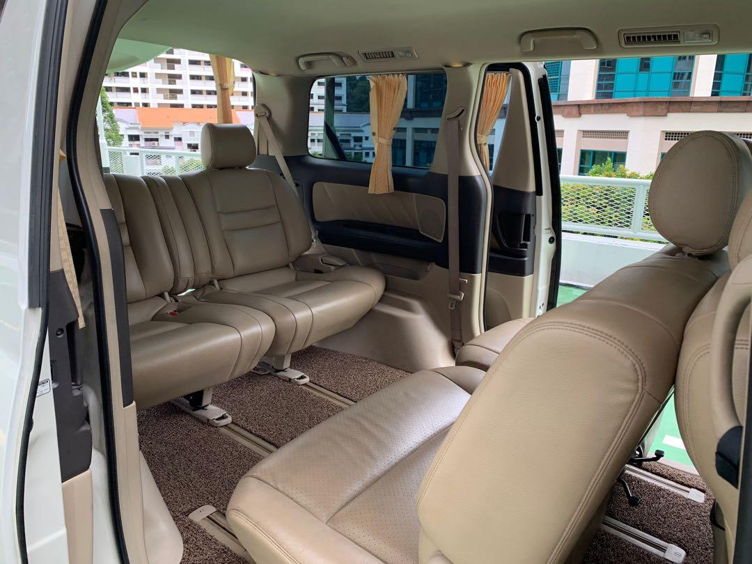 Christmas & New Year Alphard Hybrid For Rent