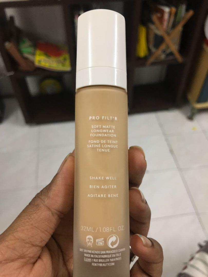 Fenty Beauty Pro Filt R Soft Matte Long Wear Foundation 290 100 Authentic Health Beauty Makeup On Carousell