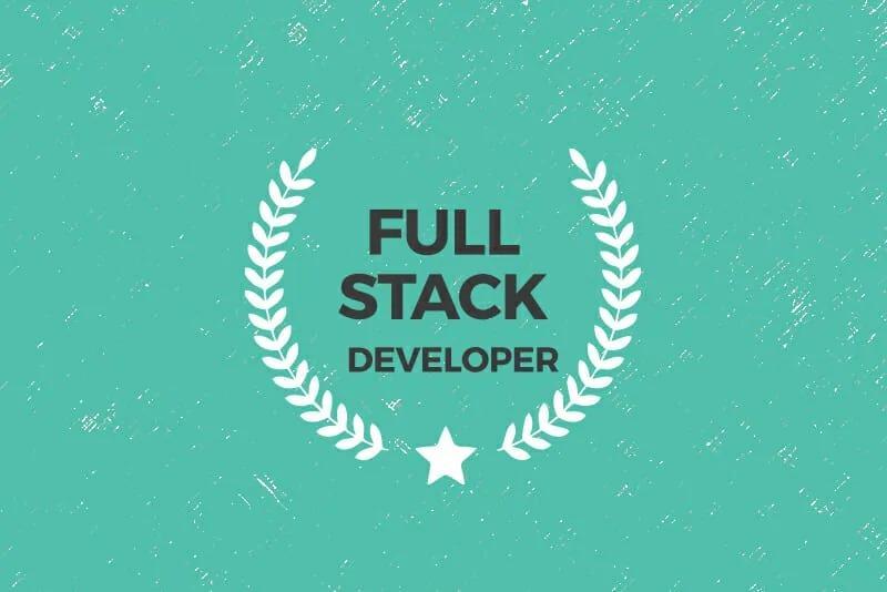 Full stack developer/Back end developer/Front-End Developer