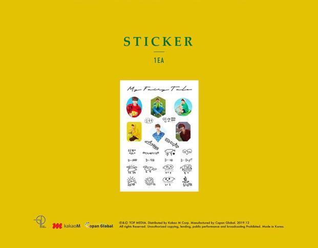 [🇲🇾GROUP ORDER] LEE JIN HYUK PHOTO ALBUM - MY FAIRY TALE IN SWITZERLAND ( CALENDAR SET )