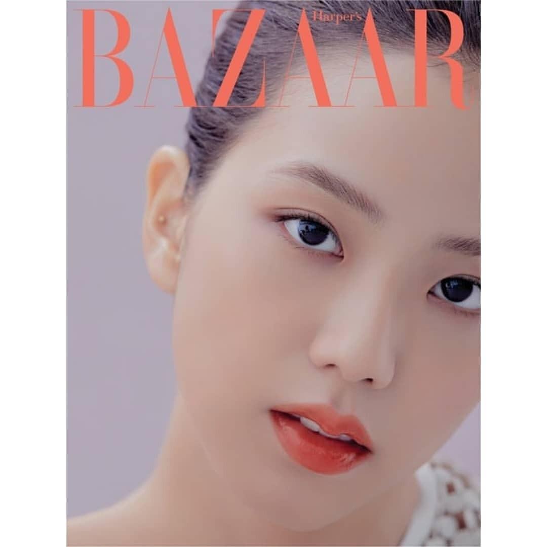 ❄Harper 's Bazaar Magazine❄ January issue - Jisoo (blackpink)