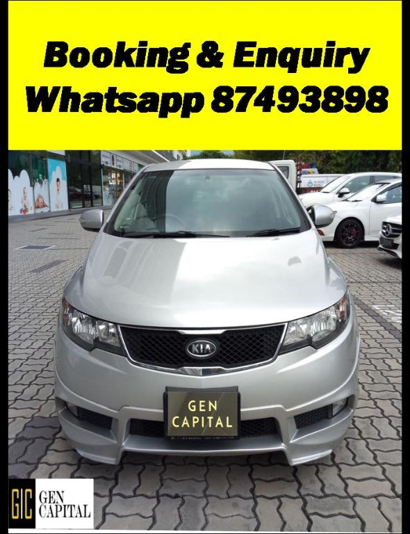 Kia Cerato Forte Deposit $500 Driveaway Immediately into a New Year with the cheapest rental! Whatsapp 87493898 now for more info