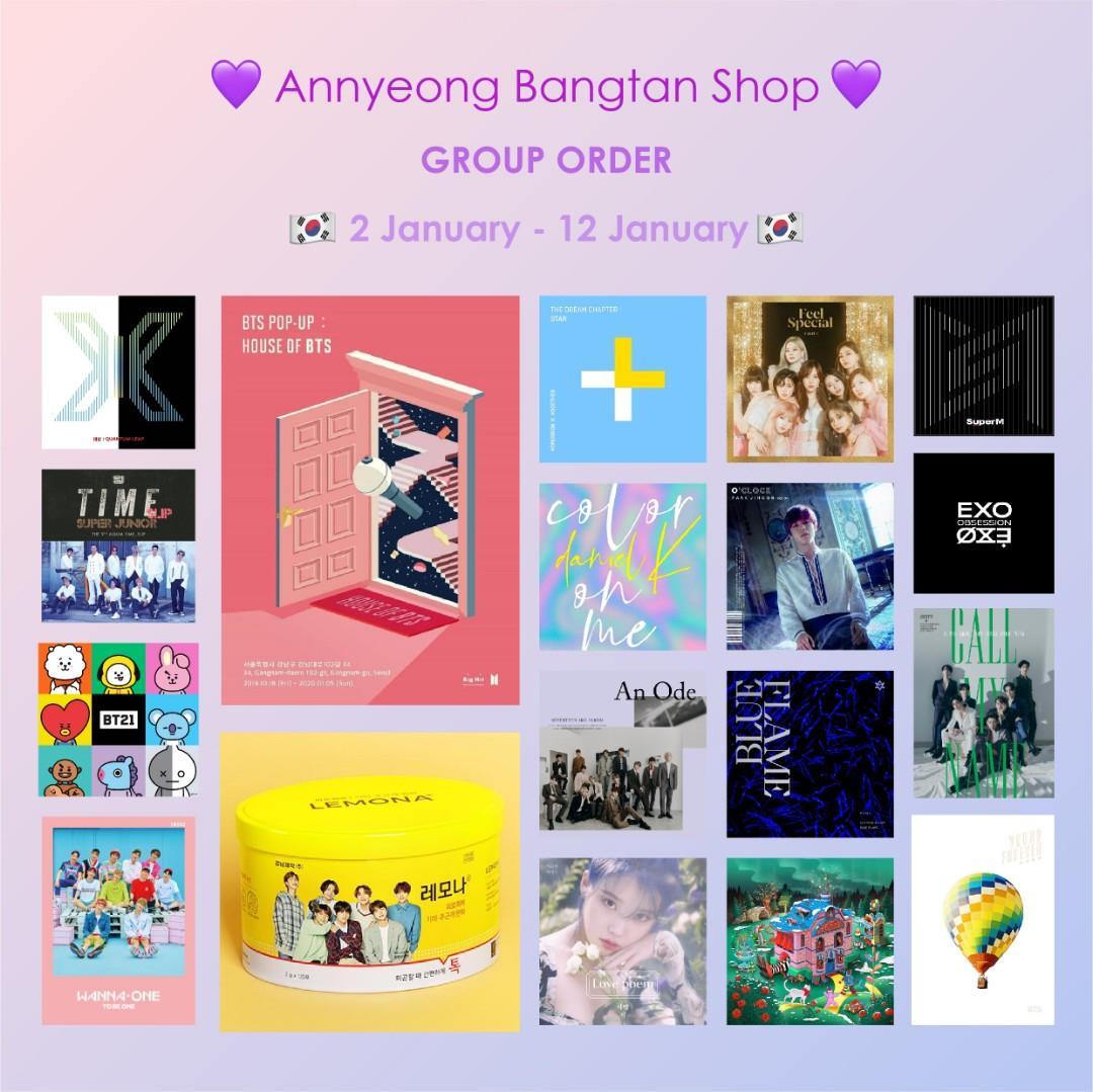 CLOSED🇰🇷MY GO 2/1 - 12/1🇰🇷 KPOP Album [Korea Purchasing Service]